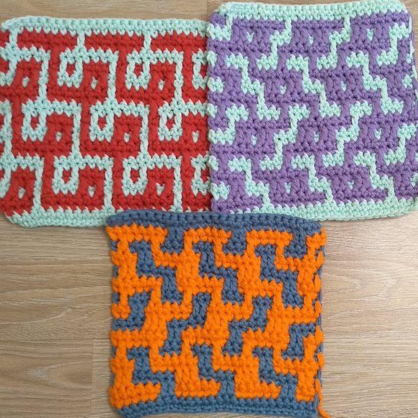 Набор 3 схемы вязания