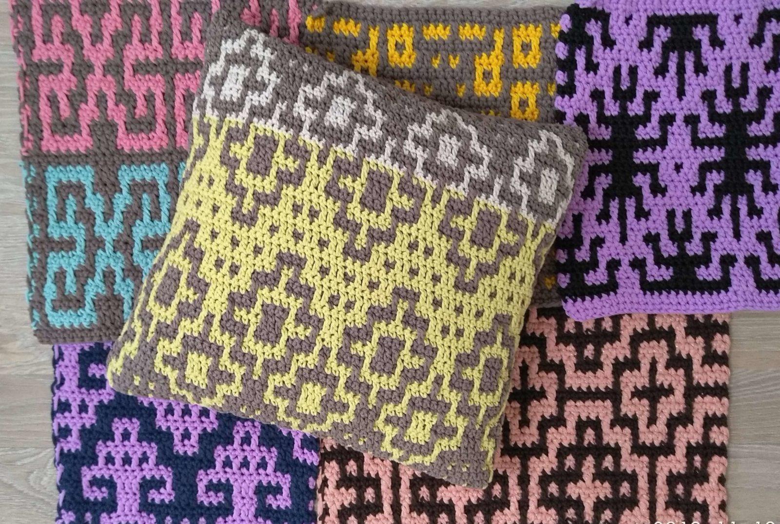 mosaic crochet tutorial