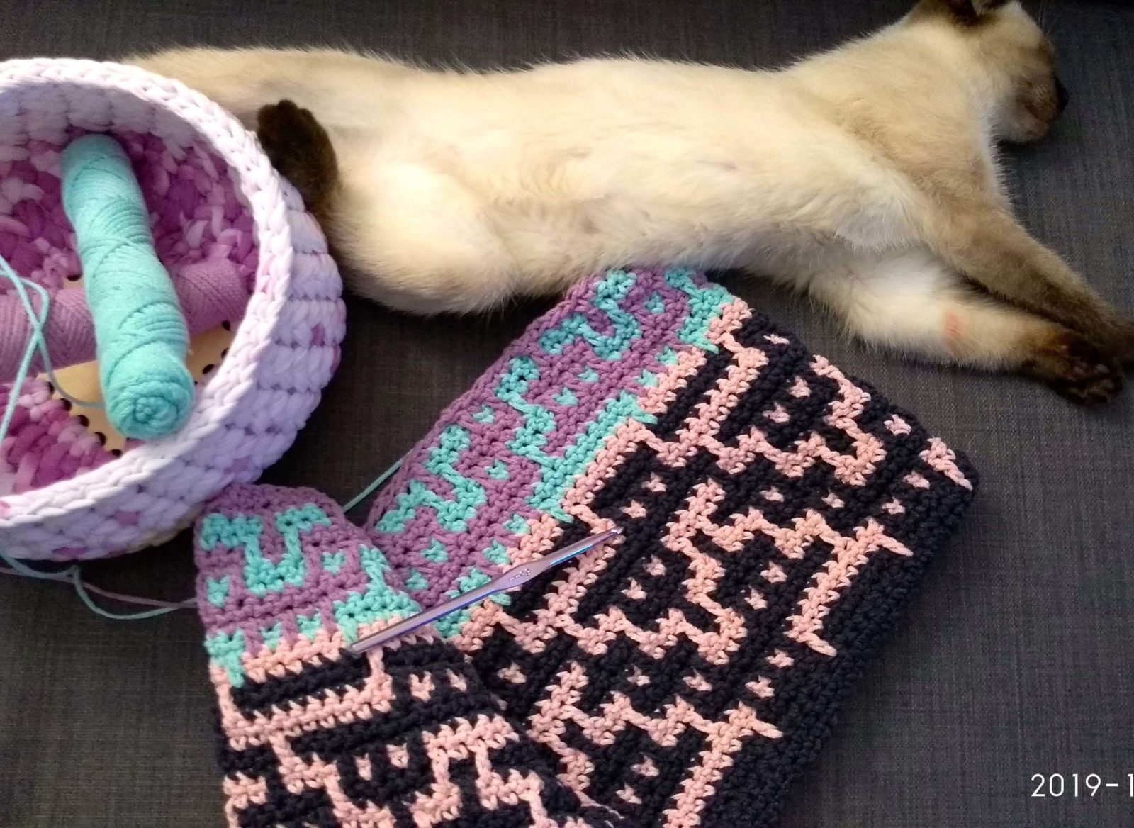 о вязании и кошках